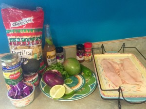 Fish Taco Ingredients