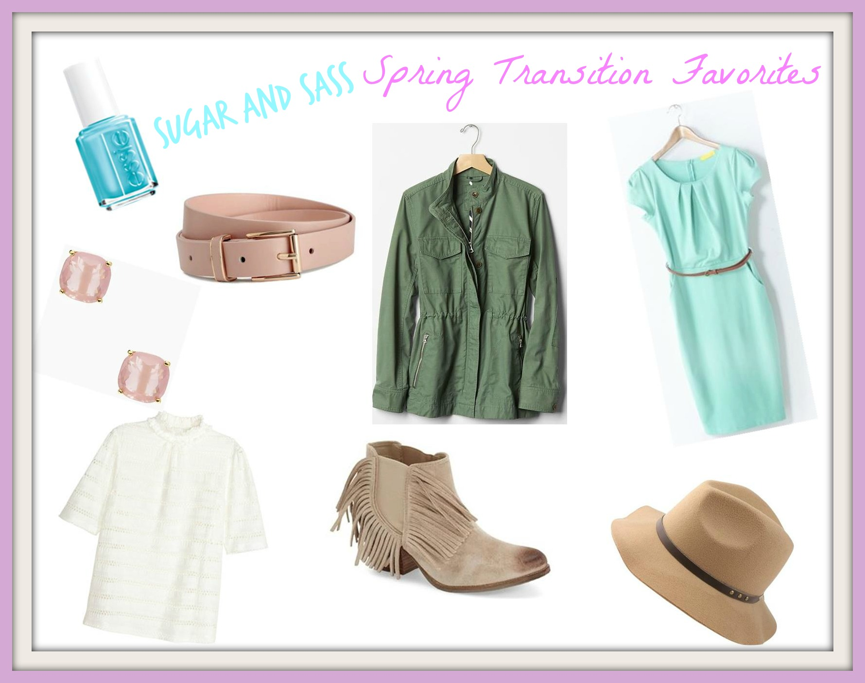 sugar and sass spring transition favorites