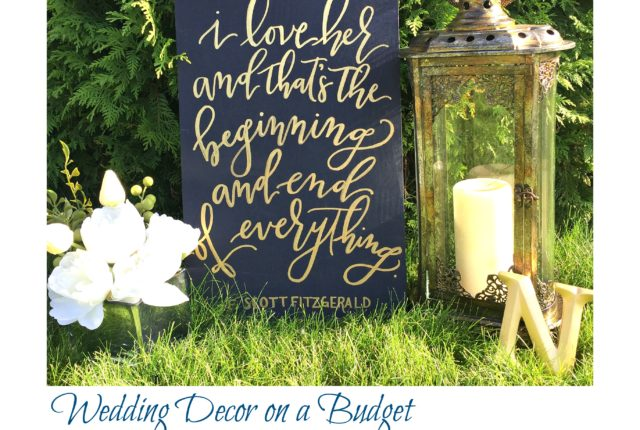 wedding decor blog post cover photo